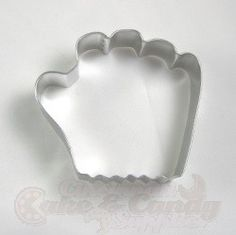 Baseball Glove Cookie Cutter Cutter is approximately tall x wide x deep. Made of tinned steel. Hand washing and drying is recommended. Baseball Glove Cake, Hand Washing, Cincinnati, Cookie Cutters, Gloves, Gadgets, Candy, Cookies, Steel