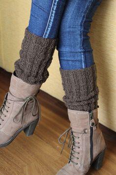 Scaldamuscoli in lana realizzati a maglia