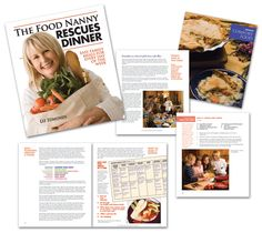 Sample Pages from The Food Nanny Rescues Dinner