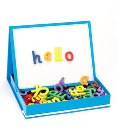 Love this Rainbow Phonics Magnetic Letters Set on #zulily! #zulilyfinds