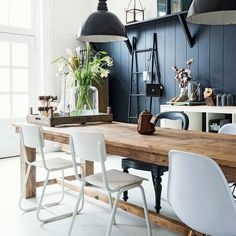 Beautiful Modern Farmhouse Dining Room Decor Ideas – Home Decor Ideas Home Interior, Interior Design, Scandinavian Interior, Luxury Interior, Interior Ideas, Sweet Home, Dining Room Inspiration, Dining Room Design, Dining Rooms
