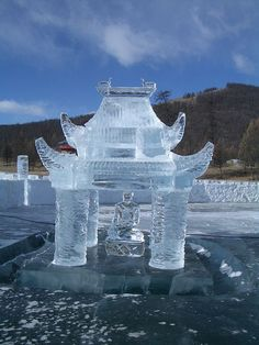 ✯ Statue of Ice Buddha .. by LAM chop✯