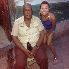 Lift man of our casa #cuba #habana #greenmile #casa #casaconcordia by merveseneren