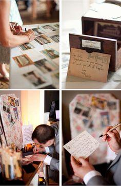 Postcards Wedding Ideas