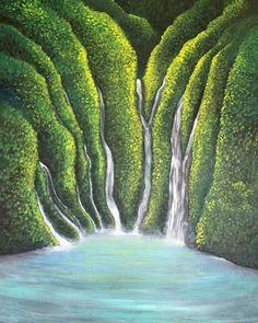 'Serenity' Original Acrylic Painting
