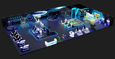 New International Product: Program CaseFortune Virtual Reality Games, Virtual Reality Headset, Game Booth, Park Equipment, Game Themes, Vr Games, Game Room Design, Display Design, Amusement Park