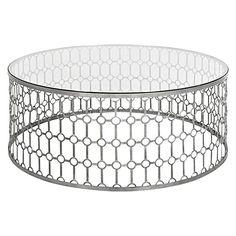 ORIGINAL Sean Dix Forte Coffee Table Matt Blatt Decor Ideas - Round lattice coffee table