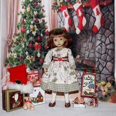 """~*~Welcome Winter~*~made to fit 13"""" Effner Little Darling~*~"""