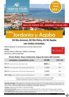 Super Oferta Jordania y Aqaba 8 días 959 € Precio Final Incluye Puente y Fin de Año ultimo minuto - http://zocotours.com/super-oferta-jordania-y-aqaba-8-dias-959-e-precio-final-incluye-puente-y-fin-de-ano-ultimo-minuto/