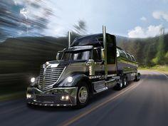 2009 International LoneStar Harley Davidson Special semi tractor truck transport