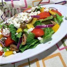Greek Cos Salad @ allrecipes.co.uk