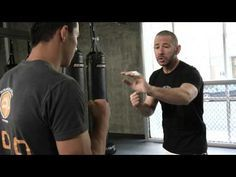 How to do the best defense against a punch in Krav Maga and MMA - YouTube