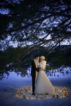 27 Incredible Night Wedding Photos That Are Must See ❤ See more: http://www.weddingforward.com/night-wedding-photos/ #weddings #photo