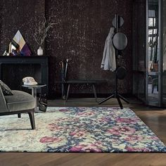 Agave Rugs 57104 by Ted Baker in Ash Grey - Free UK Delivery - The Rug Seller