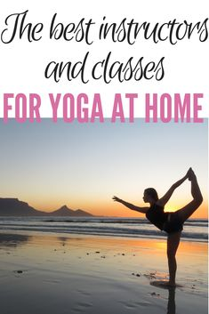 I've been practicing yoga at home for almost three years now. Here are my favorite sites and instructors for practicing yoga at little to no cost.