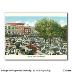 Vintage Bowling Green Kentucky Postcard