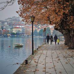 Kastoria, Greece #kastoria #greece #autumn