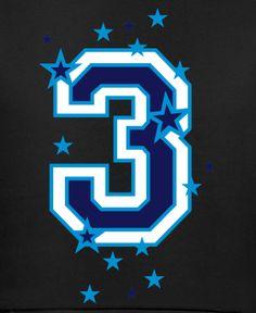 Zahl - Nummer - Number / 3 - Drei - Three
