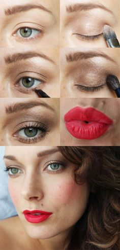 Want an easy Holiday look? Here you go! Holiday_2012_Makeup_Look