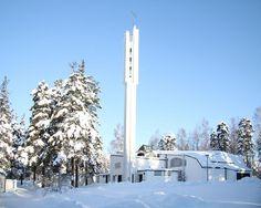 Igreja de Vuoksenniska, Imatra - 1956 / 1957_1959
