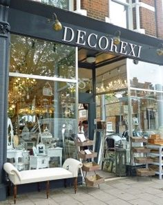 Decorexi, Chiswick High Road, Homegirl London- need to go and visit
