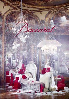 Baccarat Christmas Window Display