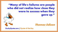 #quotes, #inspirational quotes,, #thomasedison