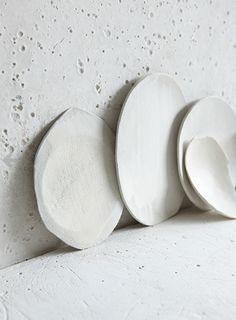 white ceramics