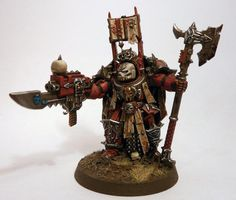 Chaos Space Marines, Dark Apostle, Terminator Armor, Word Bearers