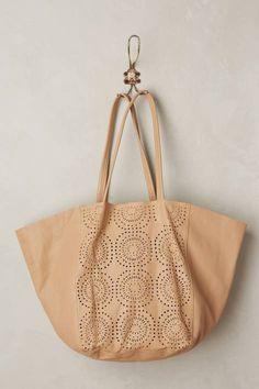 Perfed Circle Bag by Cleobella