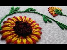 Shisha embroidery tutorial (simple) 1 | Cantinho do Video Mais