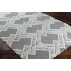 Wrought Studio Vazquez Hand-Tufted Yellow/Neutral Area Rug Rug Size: Rectangle x Yellow Rug, Contemporary Area Rugs, Rug Cleaning, Home Decor Trends, Accent Furniture, Blue Area Rugs, Rug Size, Size 2, Accent Decor