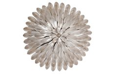 Broche 4-Light Sconce, Silver