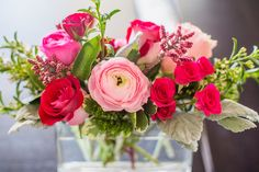 Photo by Our Labor of Love Flowers by Flower Bar Flower Bar, Cake Flowers, Reception, Rose, Plants, Pink, Receptions, Plant, Roses