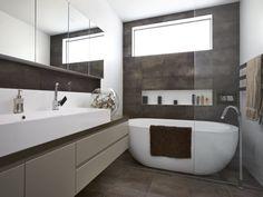 Interior Designers Sydney, Commercial Interior Design, Bathtub, Mirror, Bathroom, House Ideas, Furniture, Space, Home Decor