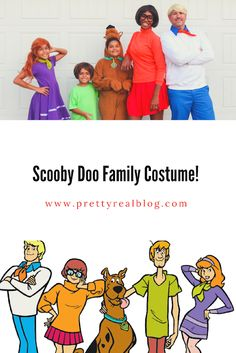 A Fun Scooby Doo Family Costume and How to Create Your Own - Pretty Real