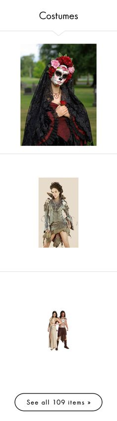 """""""Costumes"""" by nathsouzaz ❤ liked on Polyvore featuring costumes, black halloween costumes, black costume, role play costumes, comic book, comic costumes, comic book character costumes, cartoon halloween costumes, costume and couples costumes"""