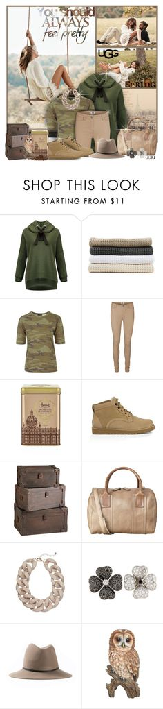 """Wind In My Hair"" by delta ❤ liked on Polyvore featuring UGG Australia, Abyss & Habidecor, Topshop, Vero Moda, Harrods, Orla Kiely, Janessa Leone, spring2016 and thisisugg"