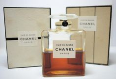 Sealed Vintage Chanel ORIGINAL Formula Cuir de Russie Extrait w Box 1 oz