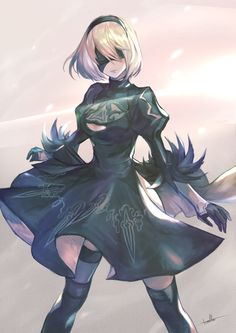 Neir Automata game is the best game of all other war game. The ranking of this game get rank from game gamerankings. Game Character, Character Concept, Character Design, Drakengard Nier, Chibi, Anime Lindo, Poses References, Fan Art, Anime Meme