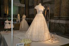 Swedish Royal Wedding Dresses Exhibition At Palace On October 2016 In Stockholm Sweden