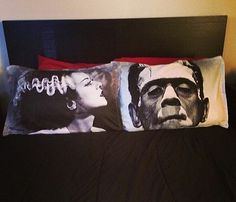 Frankenstein and Bride of Frankenstein His by Totalchaosbootique, $40.00,,So Totally Cool,,,,,