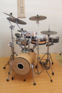 peter Lau's Sewer Pipe Drum Kit