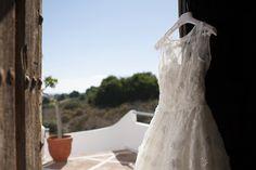 Bride dress  Santos y Eva Novios Marbella. Vestido de novia de Santos y Eva Novios Marbella