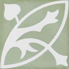zementfliesen -> VN Oval Verde S1305030 - Designfliesen