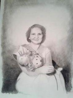 Custom pencil portraits in memory of Baby Hope Chloe James, Custom Pencils, Personalized Pencils, Pencil Portrait, Poppies, Bloom, Portraits, Memories, Gallery