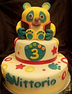 #oso#Osospecialagent - Cake by La Mimmi