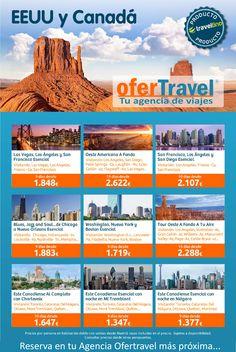 Circuitos por EEUU y Canadá. Reserva en tu Agencia Ofertravel más próxima. www.ofertravel.es