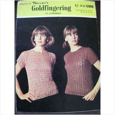 Twilleys crochet pattern C808 ladies tops or blouses Bust 32 - 44 on eBid United Kingdom