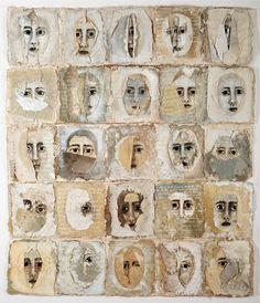 ⌼ Artistic Assemblages ⌼ Mixed Media, Journal, Shadow Box, Small Sculpture & Collage Art - Fiber Art by Arlene Morris